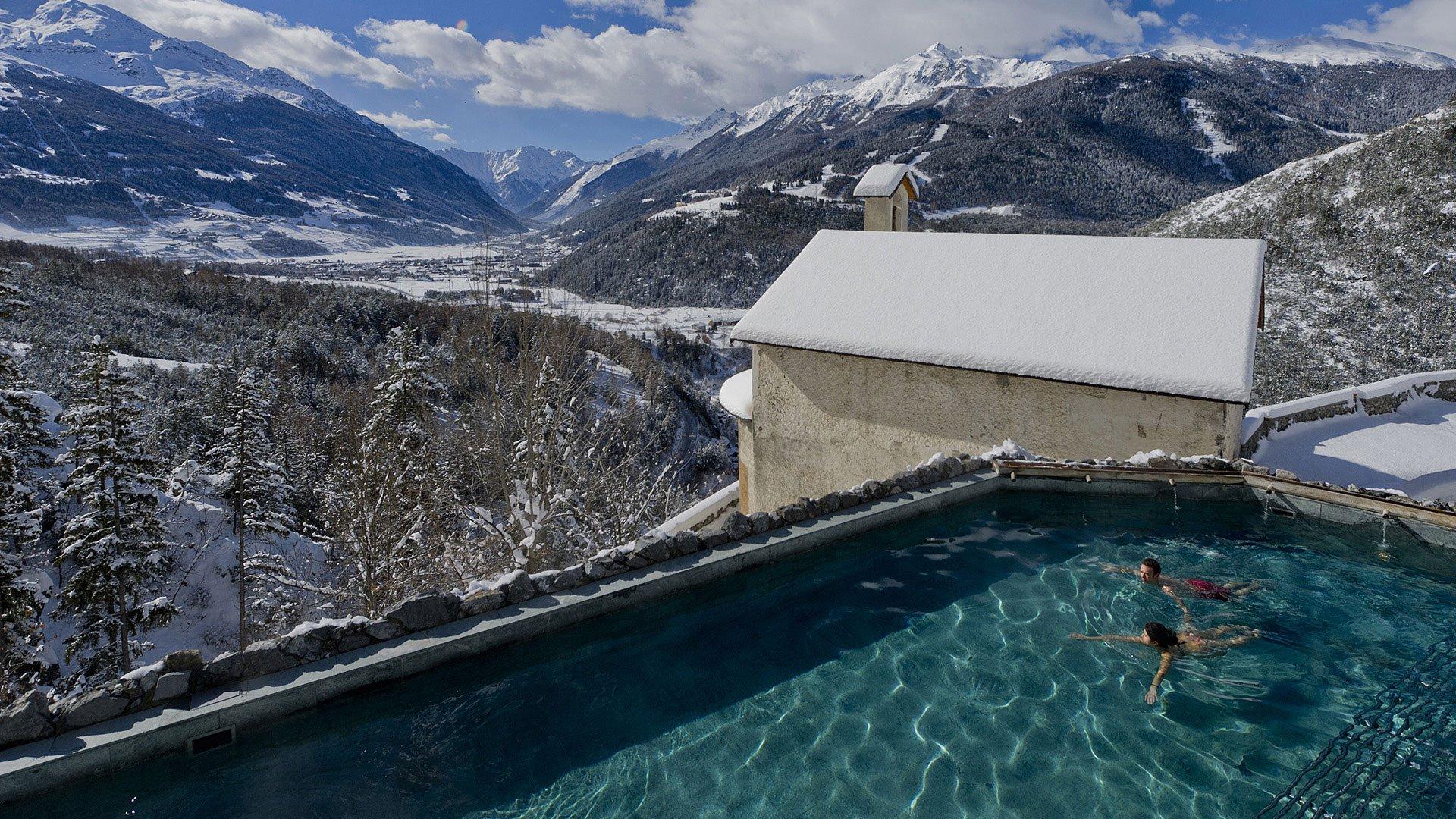 Qc terme bagni vecchi vasca all aperto 1 chalet la rugiada - Bormio bagni vecchi indirizzo ...